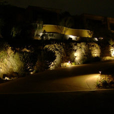 Contemporary Landscape by Becker Electric LLC