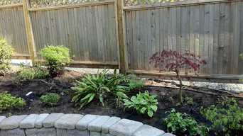 Existing plants replanted
