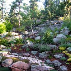 Mediterranean Landscape by Bear Creek Landscape