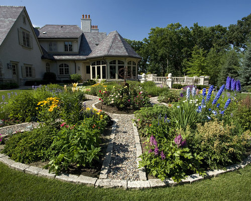 Flower Garden Designs wonderful colourful rectangle antiuqe grass flower garden designs ornamental many flowers id nice ideas Inspiration For An Expansive Traditional Backyard Landscape In Minneapolis