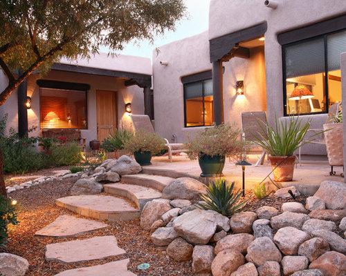 Southwestern Landscape Ideas, Designs, Remodels & Photos