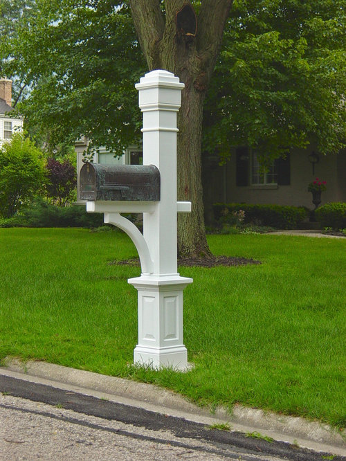 Mailbox Post Ideas Pictures Remodel And Decor