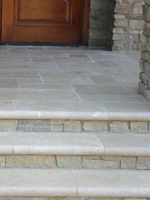 Stone Porch Steps Houzz