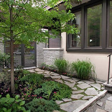 Contemporary Landscape by Walden Homes