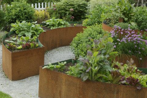 Circular Garden Bed Home Design Ideas Pictures Remodel