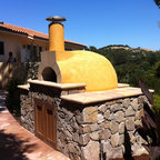 San Clemente Small Home 1 Mediterranean Landscape
