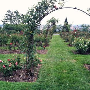 Immagine di un giardino tradizionale