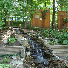 Contemporary Landscape by Designscape Horticultural Services