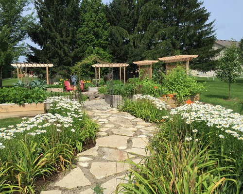 Indianapolis landscape ideas designs remodels photos for Landscaping rocks indianapolis