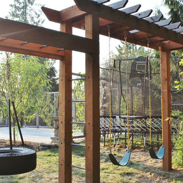 Farm to Pizza Oven to Pickleball Court