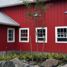 Farmhouse Landscape by The Philbin Group Landscape Architecture