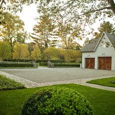 Farmhouse Landscape by Doyle Herman Design Associates