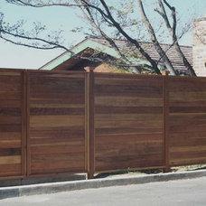 Contemporary Landscape by California Deck Builders