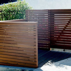Contemporary Entry by California Deck Builders
