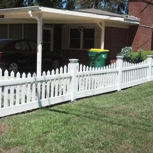 Driveway Fence Houzz