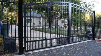 Fencing, 2 pairs of Driveway Gates