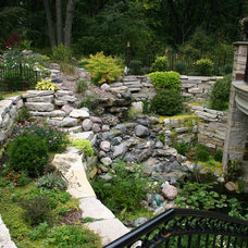 Traditional Landscape by Fergon Architects, LLC