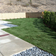 Contemporary Landscape by San Diego Landscape Solutions Inc