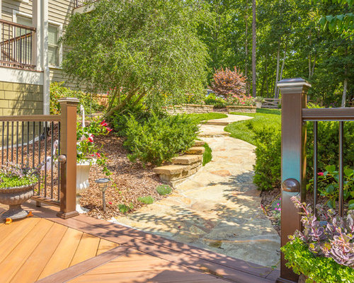 Traditional side yard landscape ideas designs remodels for Verdance landscape design