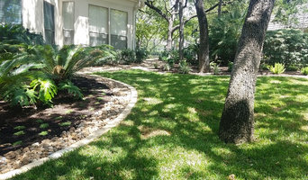 Finished Landscape in Shavano Park, San Antonio, Texas