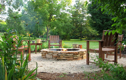 How to Make a Stacked Stone Fire Pit