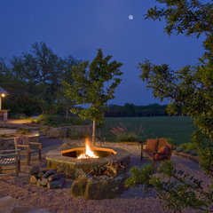 traditional landscape by Rick O'Donnell Architect
