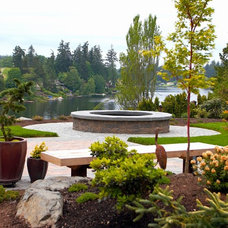 Eclectic Landscape by Lankford Associates Landscape Architects