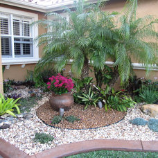 Tropical Landscape FLA Rock Garden