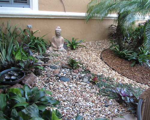 Low maintenance landscaping home design ideas pictures for Low maintenance tropical garden