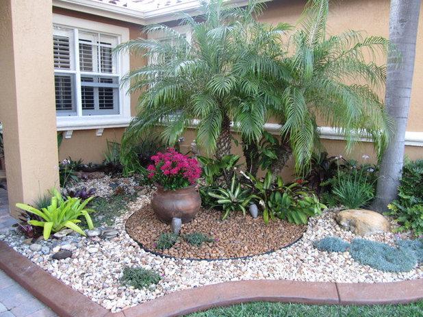 Eclectic Landscape FLA Rock Garden Landscape