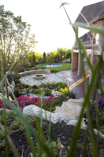 Traditional Landscape by Utah Landscaping