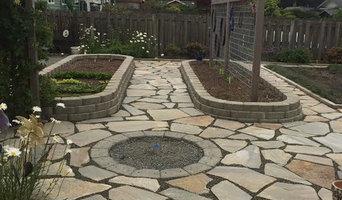 Flagstone Garden Area - Whidbey Island, WA