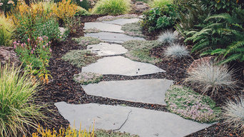 Flagstone Path Lined in Thyme