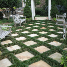Traditional Patio by Botanica Atlanta | Landscape Design-Build-Maintain