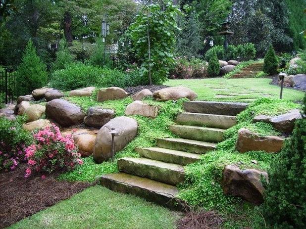 Классический Сад by Botanica Atlanta | Landscape Design-Build-Maintain