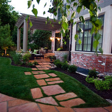 Traditional Landscape by Mile High Landscaping