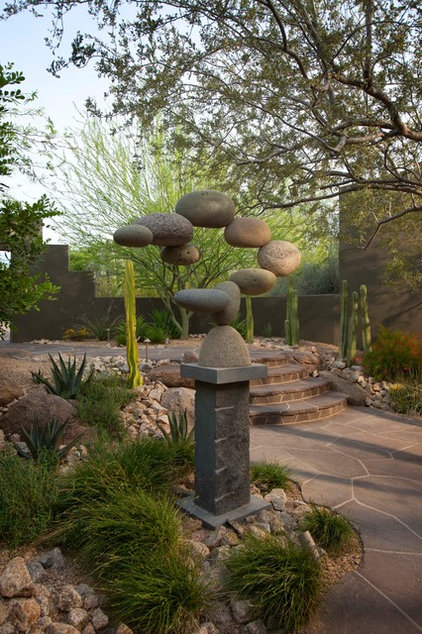 Contemporary Landscape by Exteriors By Chad Robert