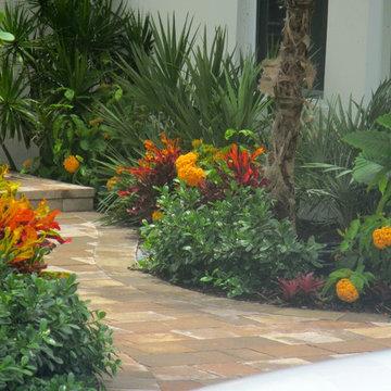 Florida Front yard garden design