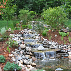 Traditional Landscape by Miller Creek Lawn & Landscape
