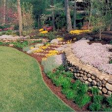 Rustic Landscape by Home & Garden Design, Atlanta - Danna Cain, ASLA