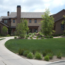 Traditional Landscape by EAS Residential Design, LLC