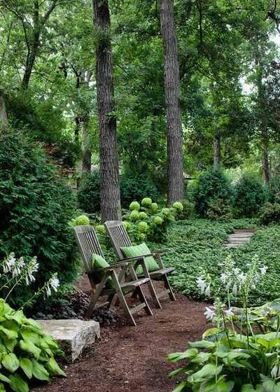 Traditional Garden by Hursthouse Landscape Architects and Contractors