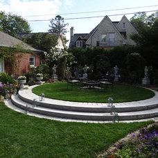 Traditional Landscape by Breckenridge Design, Construction & Maintenance