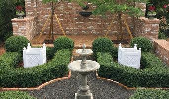 Formal Courtyard garden