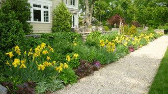Formal Gardens - Spring in North Border