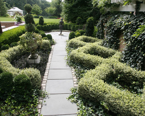 english formal garden home design ideas  pictures  remodel and decor