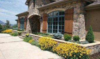 Formal landscape plantings