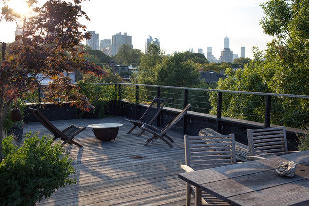 Grüne Dachterrasse perfekt unperfekt eine grüne dachterrasse mit ausblick über