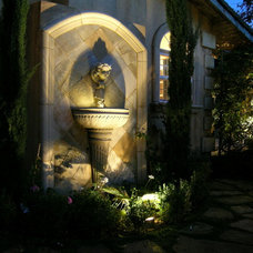 Mediterranean Landscape by Alder Group, Pool and Landscape Co.