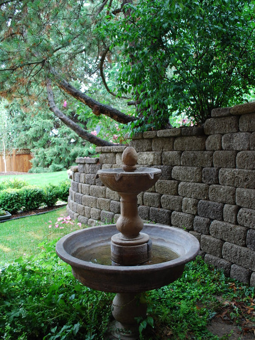 Good Inspiration For A Traditional Water Fountain Landscape In Boise. Amazing Pictures